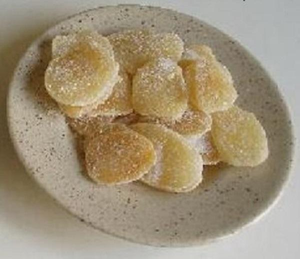 Kandizovaný zázvor - ďumbier - recept