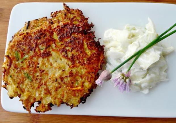 Karfiolové placky - recept