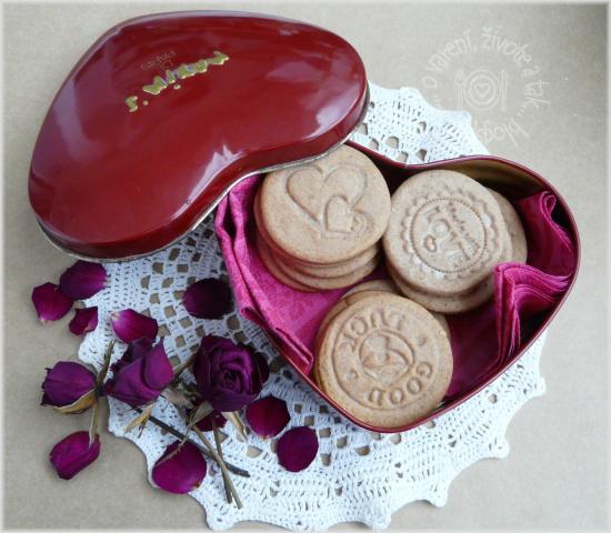 Pečiatkové keksíky - recept
