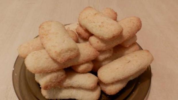 Kokosové krehké valčeky - recept