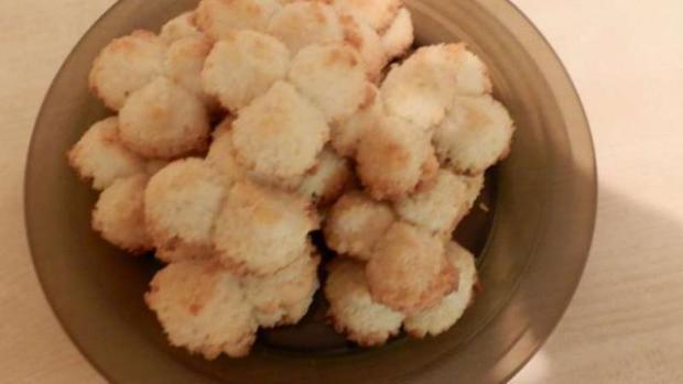 Strojčekové kokosové keksíky - recept