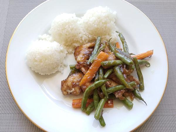 Kuracie rezance so zeleninou - recept