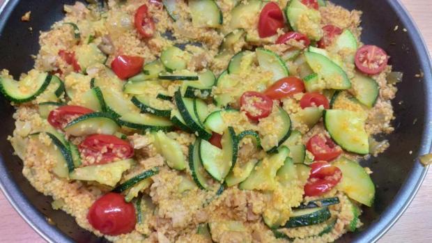 Kuskus s tuniakom a zeleninou - recept