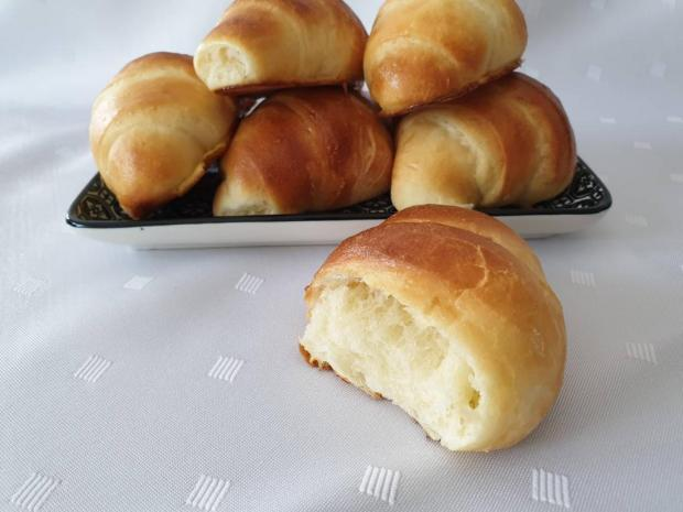 Japonské maslové rožky - recept