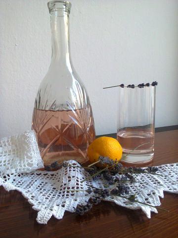 Levanduľový sirup - recept