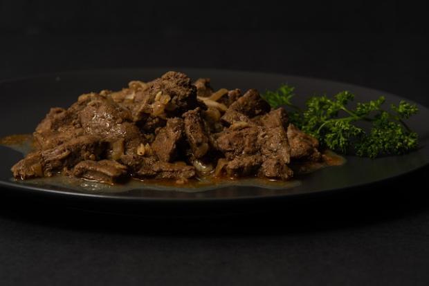 Kuracia pečeň rýchlo a chutne - recept