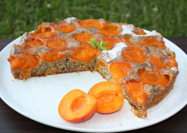 Marhuľový koláč s makom | recept