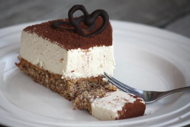 Mandľovo - smotanová nízkosacharidová torta - recept
