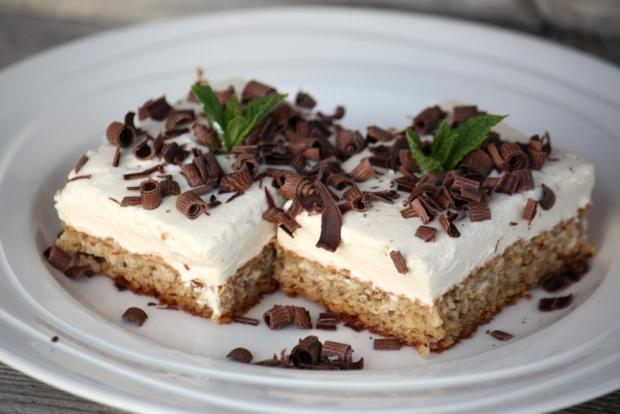 Mandľovo - tvarohový koláčik - recept