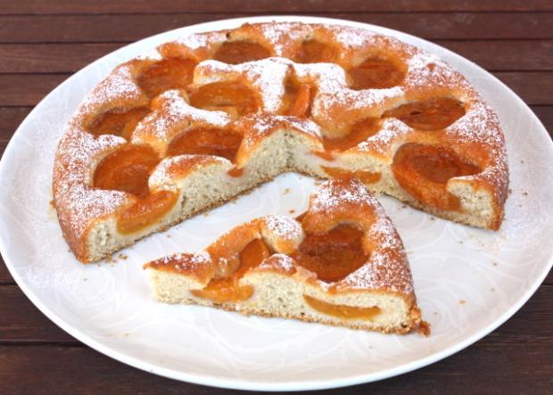 Marhuľový koláč - recept