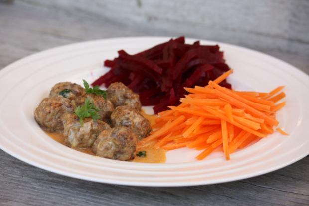 Mäsové guličky pečené v rúre - recept