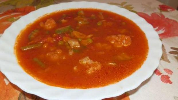 Talianska zeleninová polievka Minestrone - recept