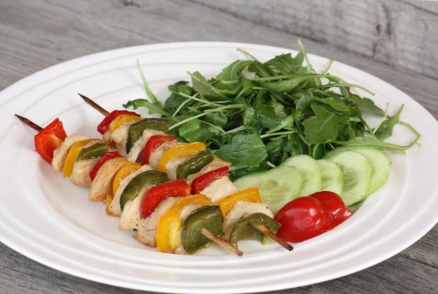 Morčací špíz s paprikou - recept
