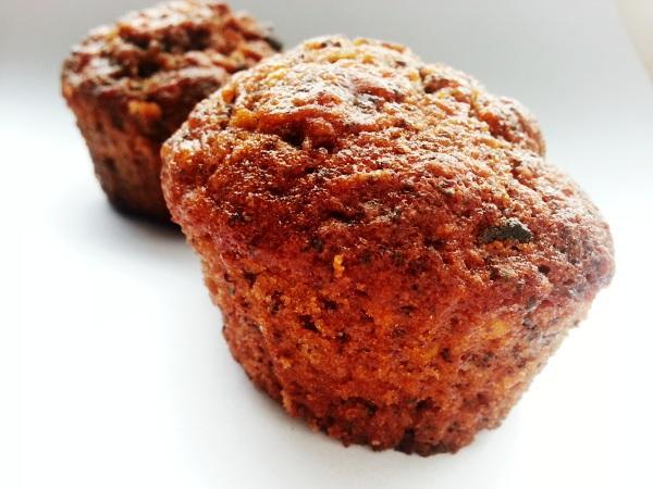 Jablkovo - mrkvové muffiny - recept