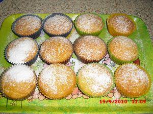 Tvarohovo-medové muffiny - recept