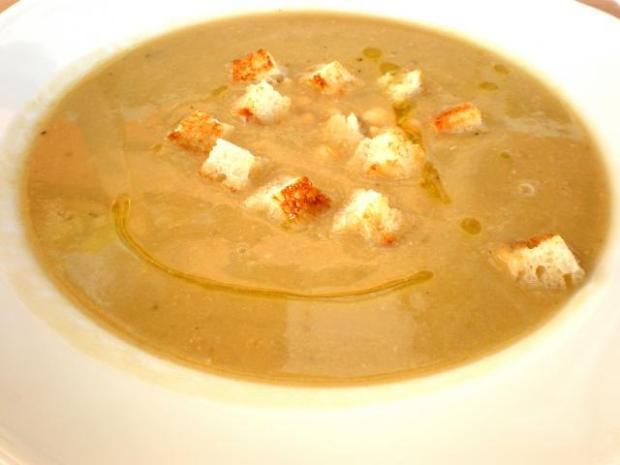 Cícerová polievka - recept