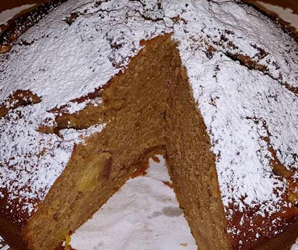 Ricottový koláč s nektárinkou - recept