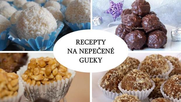 Desať receptov na nepečené guľky