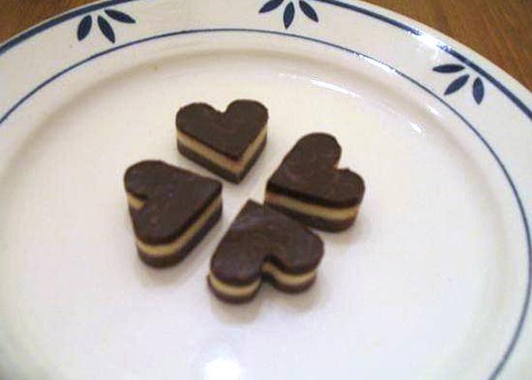 Valentínsky nugát - recept