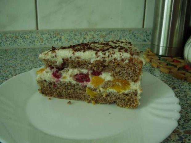 Orechová torta - recept