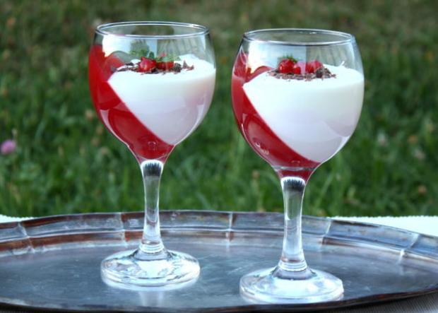 Efektný ovocný pohár, recept s fotopostupom
