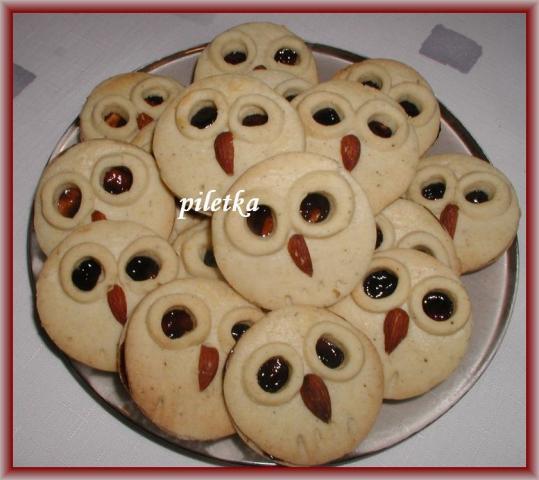 Linecké koláčiky deťom - recept