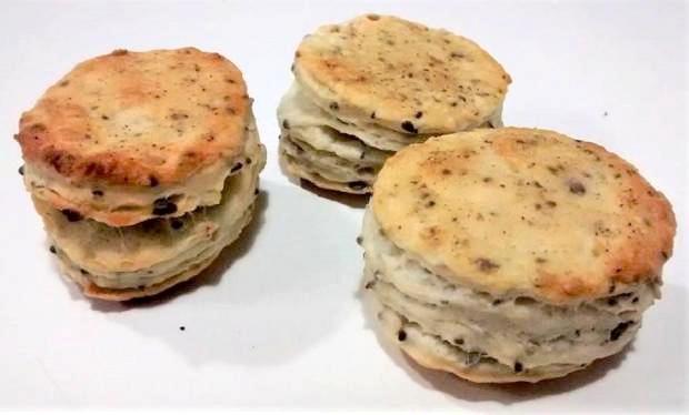 Prekladané zemiakové pagáče - recept