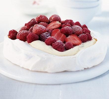 Pavlova - dezert - recept