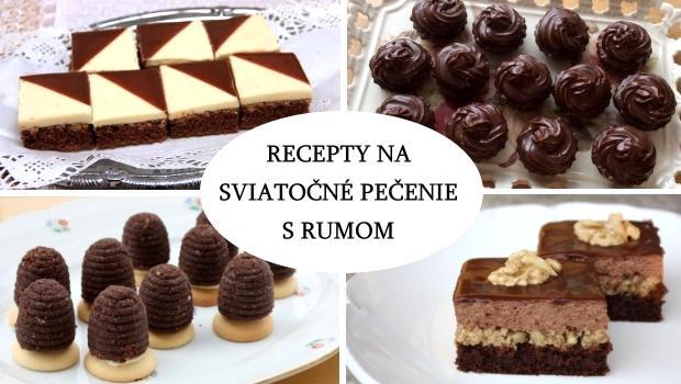 recepty na zákusky a koláče s rumom. ;)