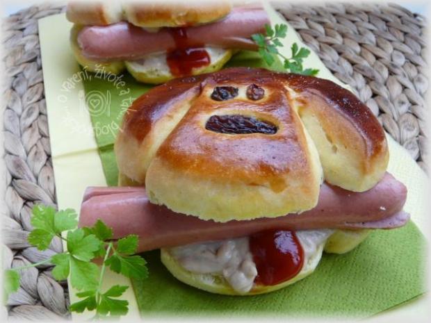 Veselý hot- dog pre deti