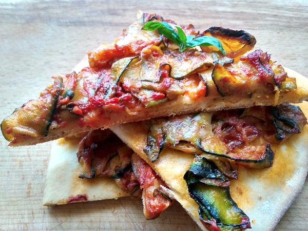 Zeleninová pizza - recept