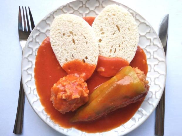 Plnená paprika - recept