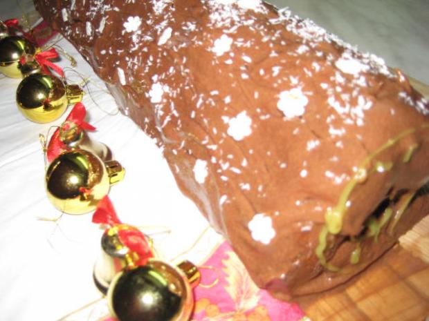 Vianočný peň - recept