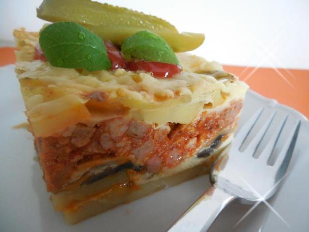 Prekladané zemiaky s mletým mäsom - recept