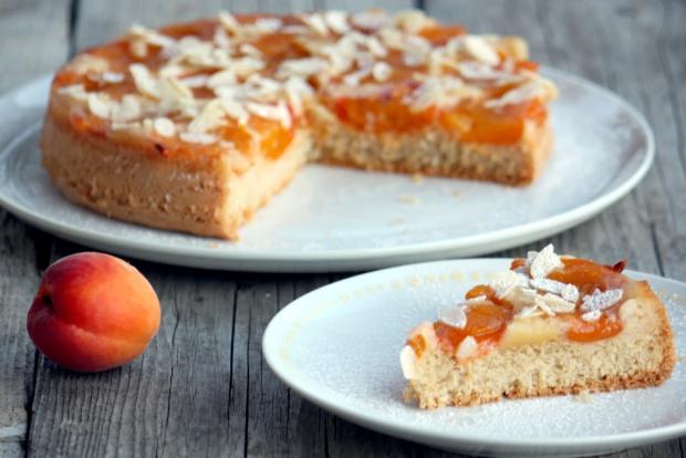 Obrátený marhuľový koláč - recept