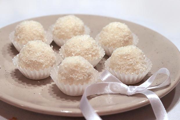 Jednoduché Raffaello guľky - recept