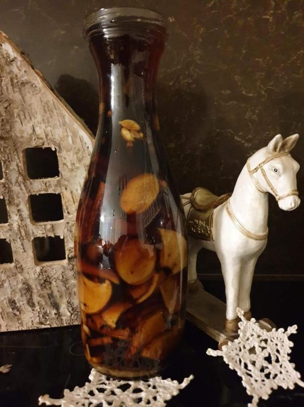 Vianočný likér - balalajka