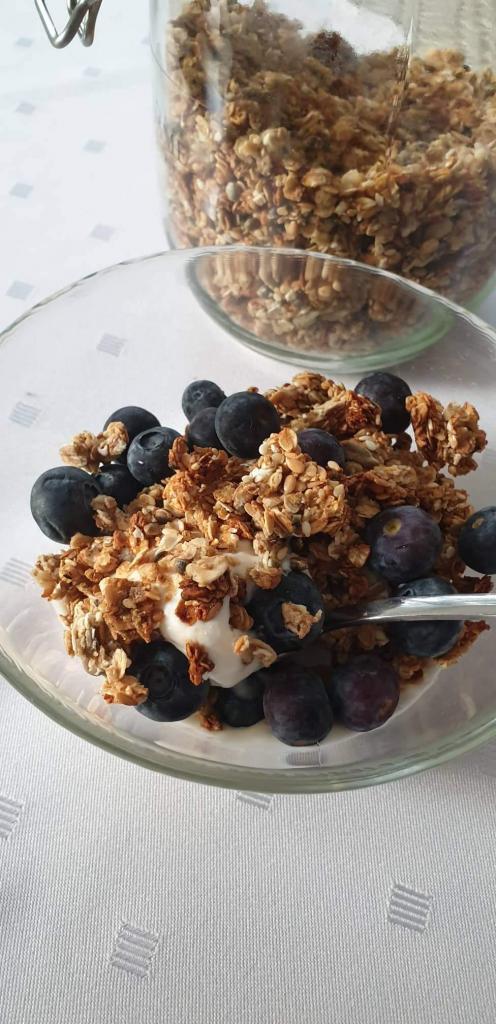 Domáca bielkovinová granola - recept