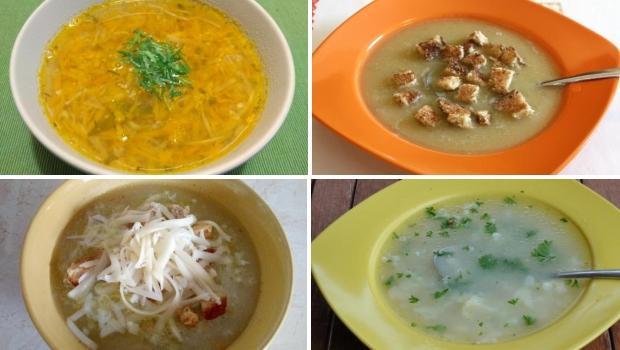 desať receptov na rýchle  ajednoduché polievky takmer z ničoho