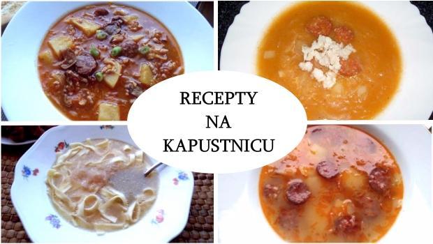 recepty na kapustnicu