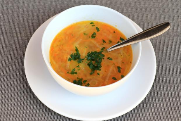 Zeleninová polievka s cukinou