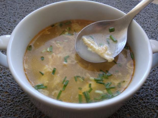 Jednoduchá vajíčková polievka - recept