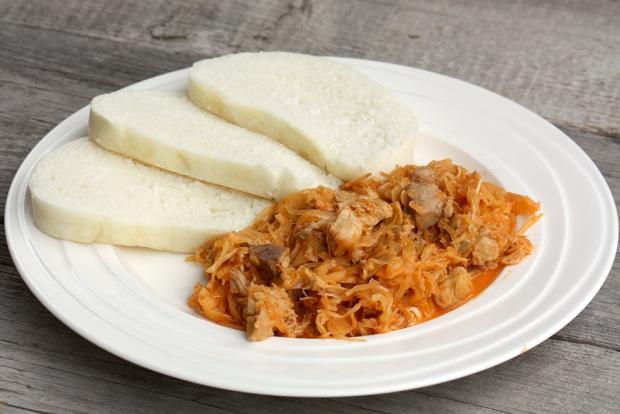 Segedínsky guláš - recept