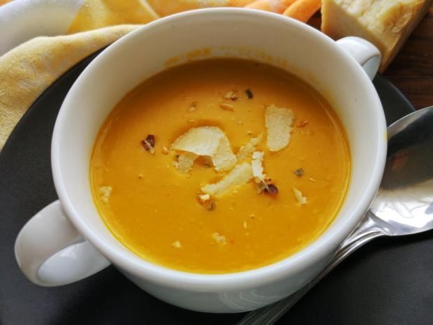 Tekvicová polievka so syrom - recept