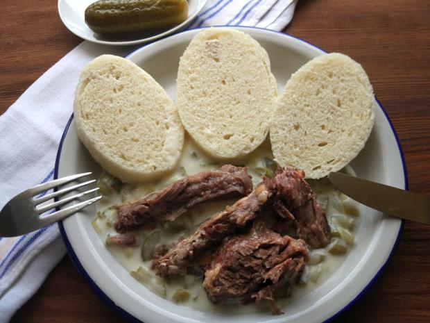 Uhorková omáčka s hovädzím mäsom - recept