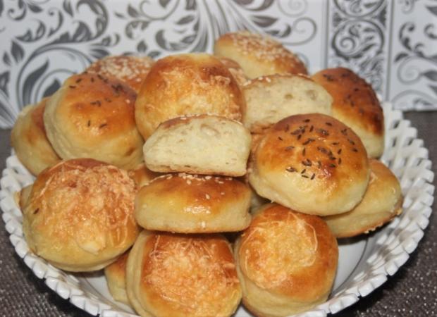 Zemiakové kysnuté pagáče - recept