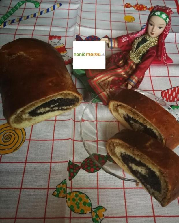 Jednoduchý makovo-orechový závin - recept