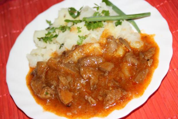 Hliva ustricová na paprike - recept