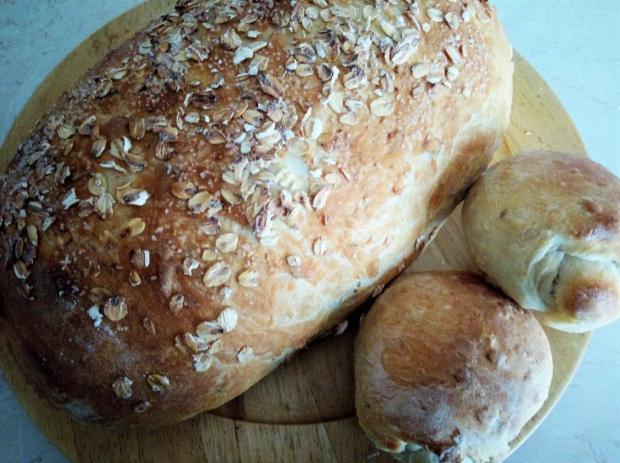 Pšenično-ovsený chlieb - recept