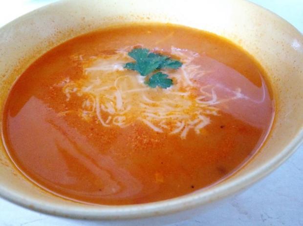 Paradajkovo mrkvová polievka - recept